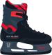 Коньки хоккейные Ice Blade Boost (р-р 44, красный) -