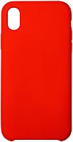 Чехол-накладка Volare Rosso Soft Suede для iPhone XR (красный) -