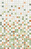 Декоративная плитка PiezaRosa Нео 122822 (250x400, средне-зеленый) -