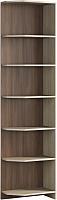Угловое окончание для шкафа Мебель-КМК Атланта 0741.1 (ясень шимо светлый/ясень шимо темный) -