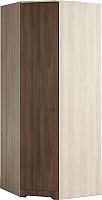 Шкаф Мебель-КМК Атланта 0741.2 (ясень шимо светлый/ясень шимо темный) -