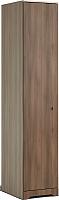 Шкаф-пенал Мебель-КМК 1Д Атланта 0741.3 (ясень шимо светлый/ясень шимо темный) -
