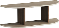 Полка Мебель-КМК Атланта 3 0741.11 (ясень шимо светлый/ясень шимо темный) -