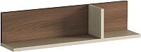 Полка Мебель-КМК Атланта 4 0741.12 (ясень шимо светлый/ясень шимо темный) -