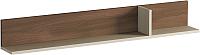 Полка Мебель-КМК Атланта 5 0741.13 (ясень шимо светлый/ясень шимо темный) -