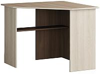 Письменный стол Мебель-КМК Атланта 0741.15 (ясень шимо светлый/ясень шимо темный) -