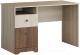 Письменный стол Мебель-КМК Атланта 0741.16 (ясень шимо светлый/ясень шимо темный) -
