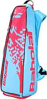 Рюкзак для бадминтона Babolat Backracq 8 / 757004-329 (небесно-голубой/розовый) -