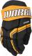 Перчатки хоккейные Warrior QRE3 / Q3G-BKO14 (черный/оранжевый) -
