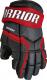Перчатки хоккейные Warrior QRE3 / Q3G-BRD11 (черный/красный) -