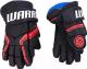 Перчатки хоккейные Warrior QRE5 / Q5G-BRW14 (черный/красный/белый) -