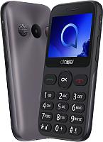 Мобильный телефон Alcatel 2019G (серый металлик) -