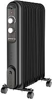 Масляный радиатор Polaris CR V 1125 Compact (черный/венге) -