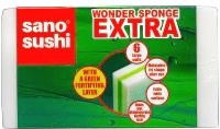 Расходный материал для уборки Sano Набор губок Wonder Sponge Extra (6шт) -