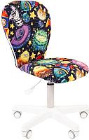 Кресло детское Chairman Kids 105 (белый пластик/нло) -