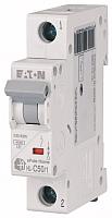Выключатель автоматический Eaton HL-C50/1 1P 50A C 4.5кA 1M / 194736 -