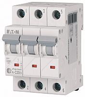 Выключатель автоматический Eaton HL-C50/3 3P 50A C 4.5кA 3M / 194796 -