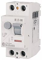 Устройство защитного отключения Eaton HNC-63/2/003, 2Р 63А 6кА 30мА АС 2М / 194692 -