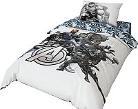 Комплект постельного белья Нордтекс Marvel Мстители MARV 1551 20051+8382/1 -