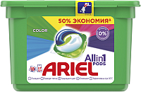 Капсулы для стирки Ariel Color (18x27г) -