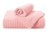 Полотенце Aquarelle Волна 70x140 (розовый пион) -