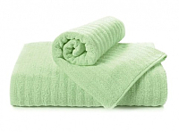 Полотенце Aquarelle Волна 70x140 (светло-зеленый) -