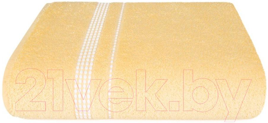 Купить Полотенце Aquarelle, Лето 70x140 (светло-желтый), Россия, хлопок