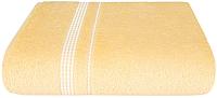 Полотенце Aquarelle Лето 70x140 (светло-желтый) -