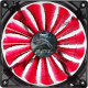 Кулер для корпуса AeroCool Shark Devil Red Edition -