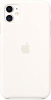 Чехол-накладка Apple Silicone Case для iPhone 11 White / MWVX2 -