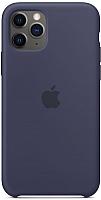 Чехол-накладка Apple Silicone Case для iPhone 11 Pro Midnight Blue / MWYJ2 -
