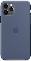 Чехол-накладка Apple Silicone Case для iPhone 11 Pro Alaskan Blue / MWYR2 -