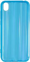 Чехол-накладка Volare Rosso Aura для Y5 2019 / Honor 8s (голубой) -