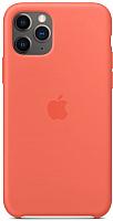 Чехол-накладка Apple Silicone Case для iPhone 11 Pro Clementine Orange / MWYQ2 -