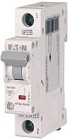 Выключатель автоматический Eaton HL-B16/1 1P 16A B 4.5кA 1M / 194721 -