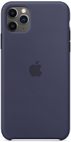 Чехол-накладка Apple Silicone Case для iPhone 11 Pro Max Midnight Blue / MWYW2 -