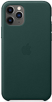 Чехол-накладка Apple Leather Case для iPhone 11 Pro Forest Green / MWYC2 -