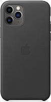 Чехол-накладка Apple Leather Case для iPhone 11 Pro Black / MWYE2 -