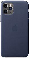 Чехол-накладка Apple Leather Case для iPhone 11 Pro Midnight Blue / MWYG2 -