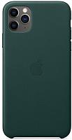 Чехол-накладка Apple Leather Case для iPhone 11 Pro Max Forest Green / MX0C2 -