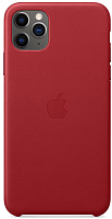 Чехол-накладка Apple Leather Case для iPhone 11 Pro Max (PRODUCT)RED / MX0F2 -