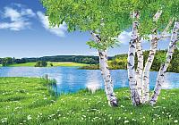 Фотообои листовые Твоя планета У озера (194х136) -