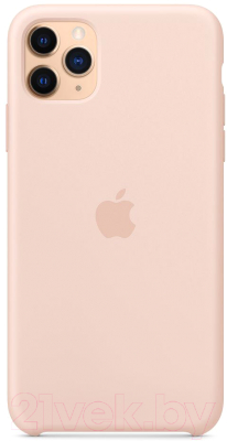 Чехол-накладка Apple Silicone Case для iPhone 11 Pro Max Pink Sand / MWYY2