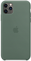 Чехол-накладка Apple Silicone Case для iPhone 11 Pro Max Pine Green / MX012 -