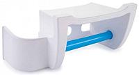 Полка для туалета Berossi Mira АС 25001472 (снежно-белый, голубая лагуна) -
