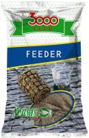 Прикормка рыболовная Sensas 3000 Club Feeder / 10881 (1кг) -