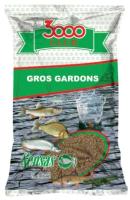 Прикормка рыболовная Sensas 3000 Club Gros Gardon / 11322 (1кг) -