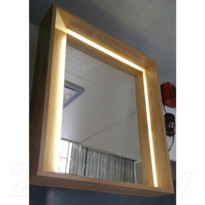 Зеркало Аква Родос Едда 80 / ОР0002598 (севилья)