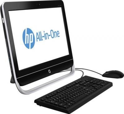 Моноблок HP Pro 3520 AiO (D1V62EA) - вид сбоку