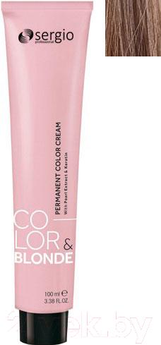 Купить Крем-краска для волос Sergio Professional, Color&Blonde 9.003 (св. блондин натурал. карамельн.), Италия, русый